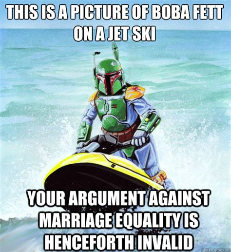 Ski Meme - no clue boba fett memes quickmeme