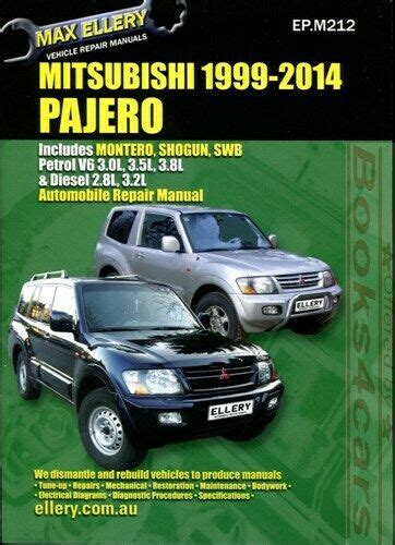 how to download repair manuals 1995 mitsubishi montero security system mitsubishi montero shop manual pajero service repair book 2000 2014 ellery guide ebay