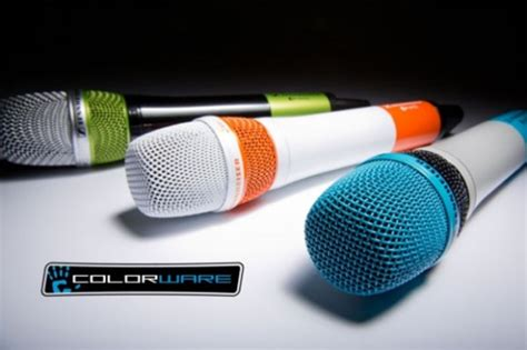 Mic Shure Ur12d White Edition Wireless Microphone colorware unveils custom elite paint finish sennheiser