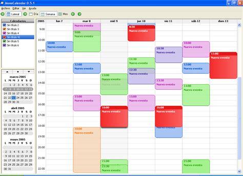 I Calendar Windows Monocalendar Free And Reviews Fileforum