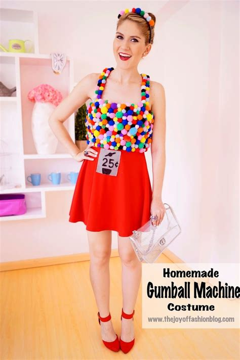 diy gumball machine costume click through for step by