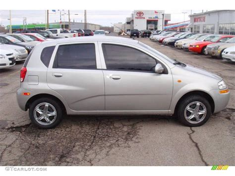 2004 galaxy silver metallic chevrolet aveo hatchback 24999548 gtcarlot car color galleries