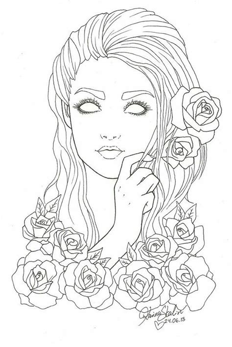 coloring pages of people s hair black people coloring pages for adults black best free