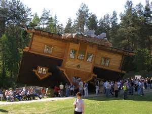Upside Down House Architecture The Upside Down House With Modern And Great