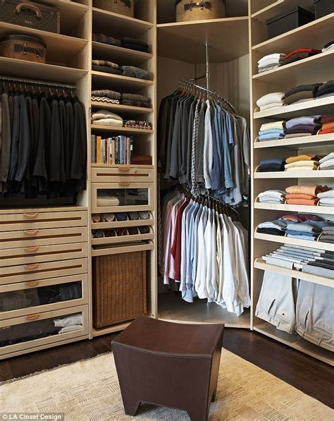 Ms Closet by Chagne Bars Poles And Silk Lined Drawers The