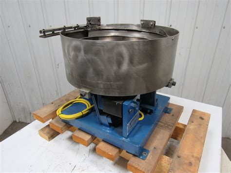 Vibratory Bowl Feeder Moorfeed 71804 16 Quot X16 Quot Vibratory Bowl Feeder Base W 2