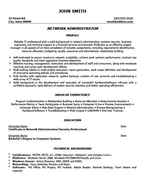 cv template word network administrator network administrator resume template premium resume