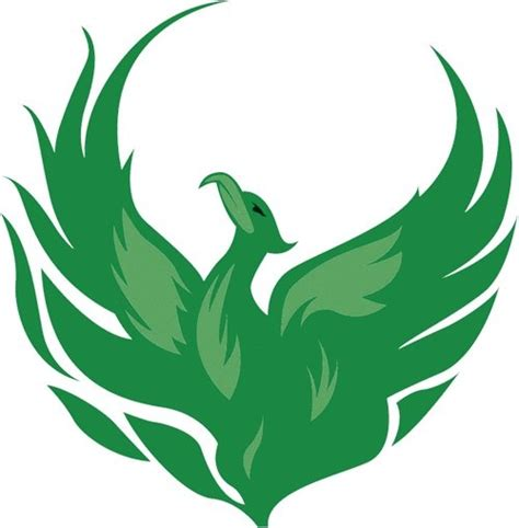 phoenix but not green tattoos loss love and new life