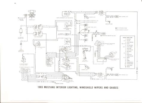 auto wiring diagram  ford mustang interior light