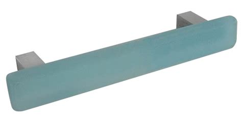 Beachy Cabinet Hardware by Sea Glass Pull Aqua 3 3 4 Quot 96mm Style Cabinet