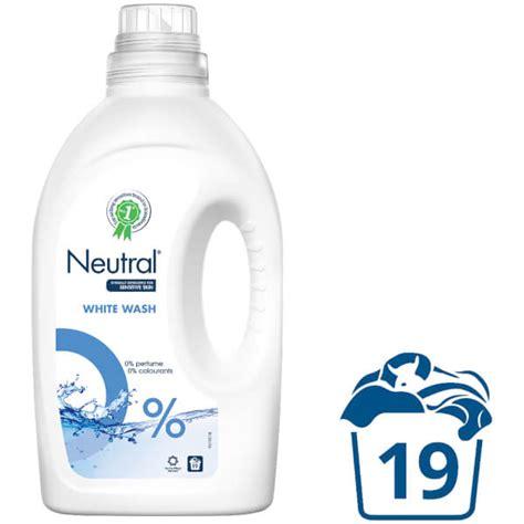 Detergen Liquid Laundry neutral 0 white liquid laundry detergent 1425ml free