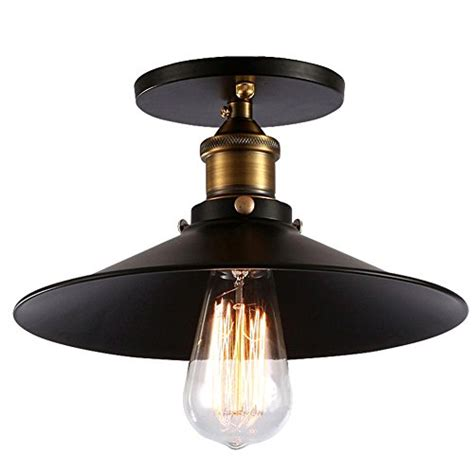 vintage retro industrial black gold kitchen lights ceiling fuloon retro vintage industrial light shade country style