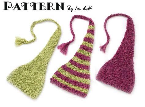 Knitting Pattern For Newborn Elf Hat
