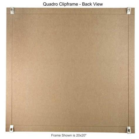 quadro clip frame 24 215 24 inch borderless frame classic