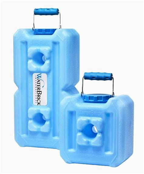 water storage container waterbrick portable water tanks emergency water storage