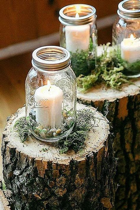 24 Gorgeous Mason Jars Wedding Centerpieces   Mason jar