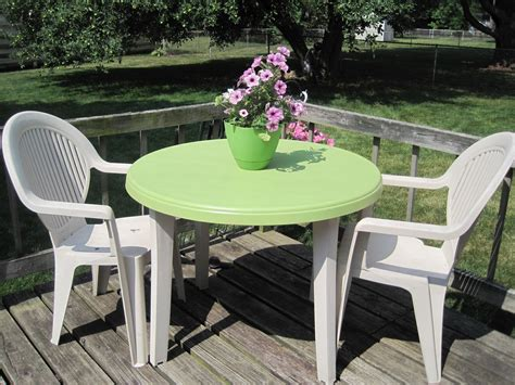 decor white plastic patio furniture with patio chairs