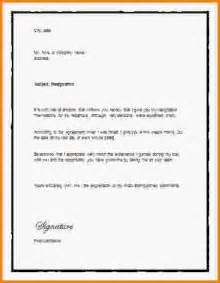 Letter Of Resignation Word Template by 13 Letter Of Resignation Template Word Letter Template Word