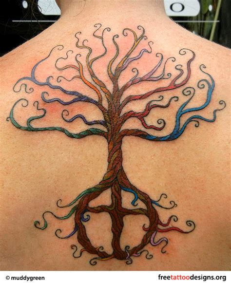 tattoo pictures of tree of life 45 nice tree of life tattoos for back golfian com