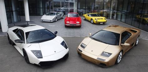 History Of The Lamborghini History Of Lamborghini Series