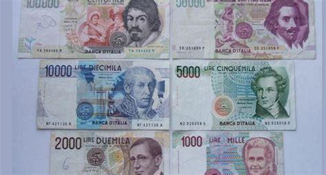 d italia cambio lire in lira prescritta in anticipo da oggi si pu 242 cambiare di