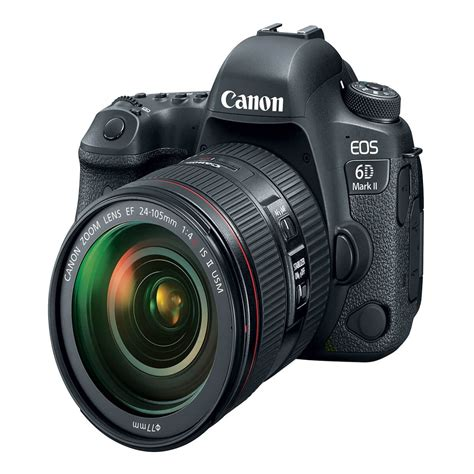 canon 6d dslr canon eos 6d ii dslr with ef 24 105mm f 4l is