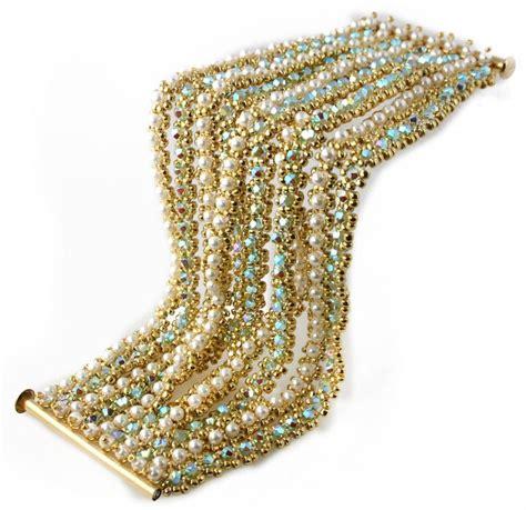 choora bracelet bead weaving kit gemstones bracelets