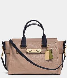 New Arrival Coach Swagger Ghw Medium Ss16 1000 Images About Two Toned Bags Trend We On