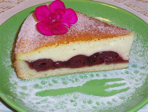 kirsch pudding kuchen kirschen kuchen mit schmandpudding rezepte suchen