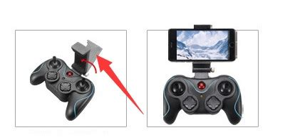 Dfd F181 With Headless Rc Remote Quadcop dfd f181 f181w f181d rc quadcopter parts mobile phone bracket