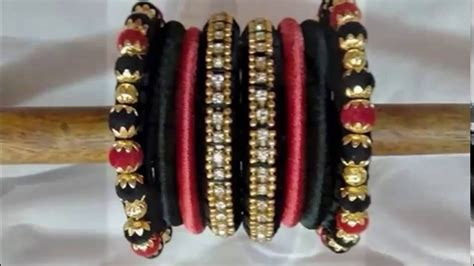 Handmade Threads - handmade thread bangles