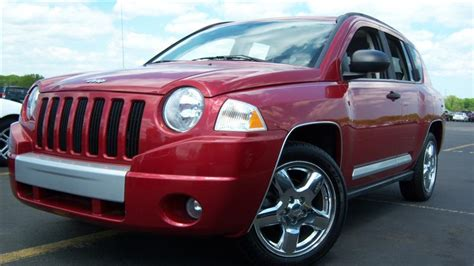 Jeep Compass Used For Sale Used 2007 Jeep Compass 4x4 Limited Sport Utility 11 890 00