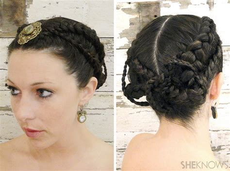 hunger games hairstyles tutorial cute up and out of the way hairstyles