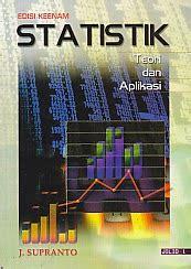 Ekonometrika Teori Dan Aplikasi Jilid 2 toko buku rahma statistik teori dan aplikasi edisi keenam jilid 1