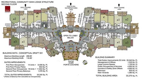 resort floor plan recreational resorts spas usa