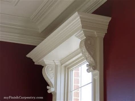 Window Corbels window moulding with corbels for the home