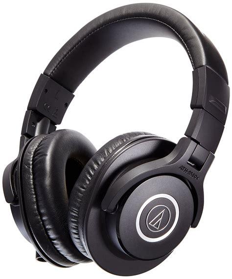 Audio Technica Ath M40x Professional Headphone Hitam audio technica ath m40x professional studio headphones