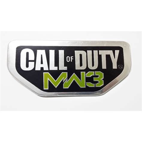 call of duty jeep emblem 2pcs aluminum call of duty modern warfare 3 for jeep