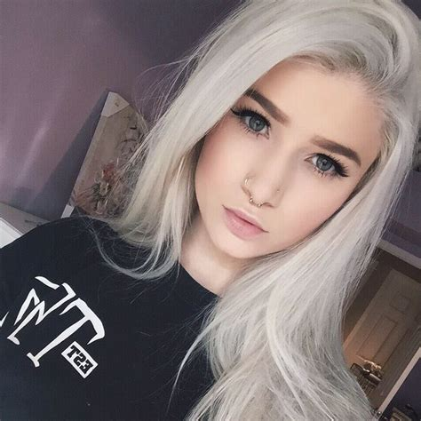latest hair trend grey hair amp pearl white for men amp women
