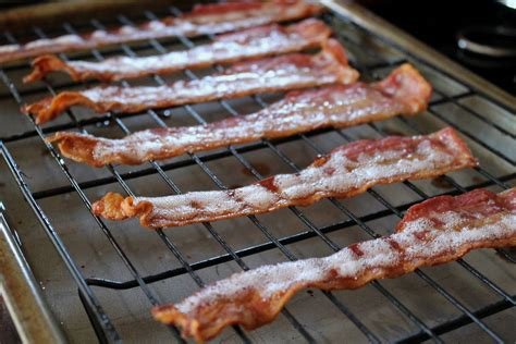 ge oven making bacon in the oven