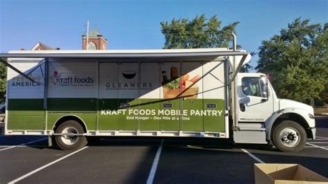 Mobile Food Pantry Truck by Food Trucks Deliver 183 Guardian Liberty Voice