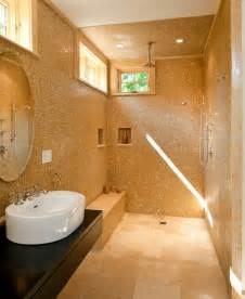 bathroom showers designs doorless shower designs teach you how to go with the flow