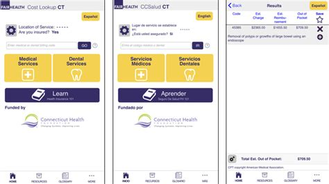 Lookup Ct Fair Health Posts Free Health Literacy And Price Transparency App Healthcare It News