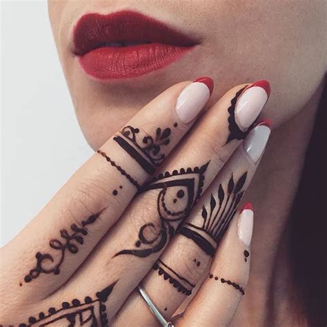 102 best henna finger images on pinterest henna mehndi