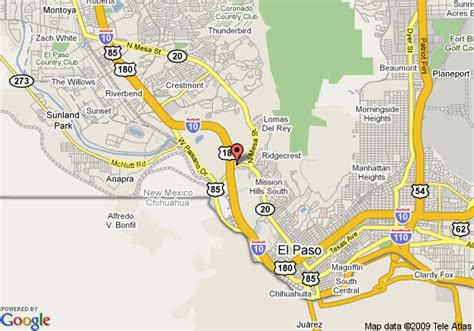 city map of el paso texas howard johnson express inn el paso tx el paso deals see hotel photos attractions near