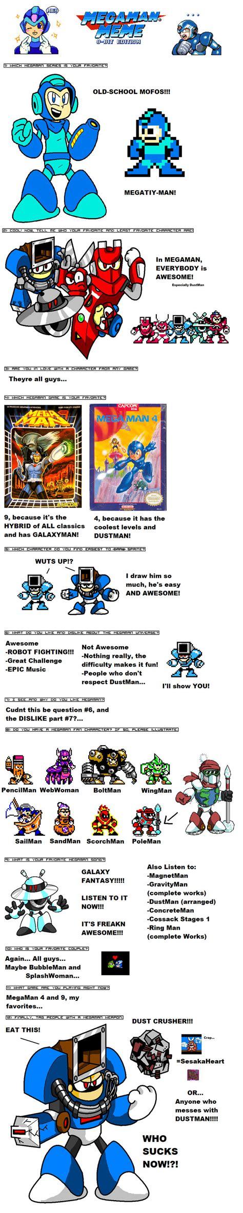 Mega Man Memes - marioshi64 megaman meme by marioshi64 on deviantart