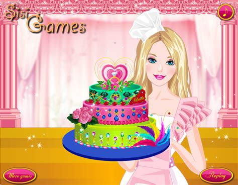 permainan membuat kue ulang tahun barbie permainan memasak kue berlian barbie permainan memasak ok