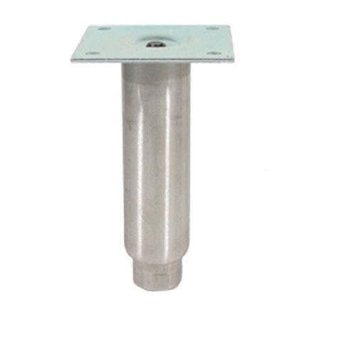 commercial sink leg extensions commercial 6 quot stainless steel plate mount leg etundra