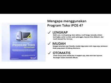 tutorial program toko ipos 4 11 cara membuat transaksi penjualan tutorial ipos 4 0