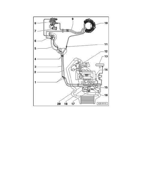 Audi A3 Emission Control System